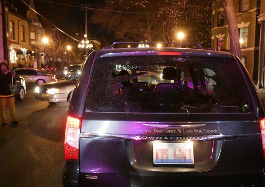 mini van rear window