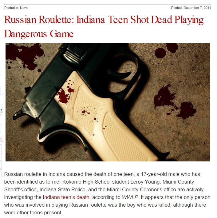 russian roulette semi auto