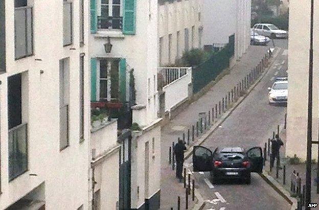 Charlie Hebdo gunmen 2