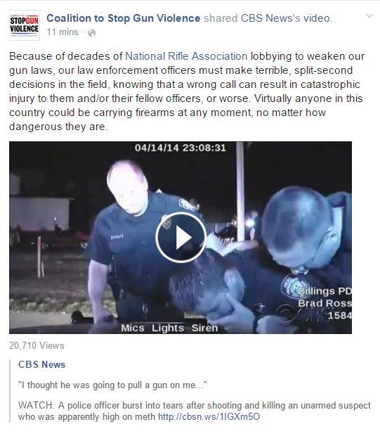 Cops CSGV NRA