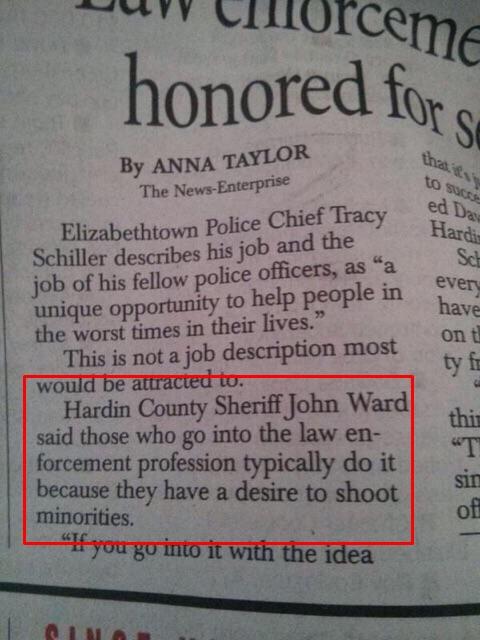 news enterprise shoot minorities