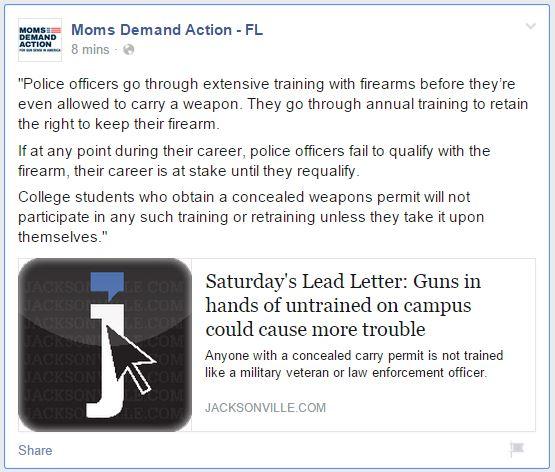 Moms Demand Florida police qualifier