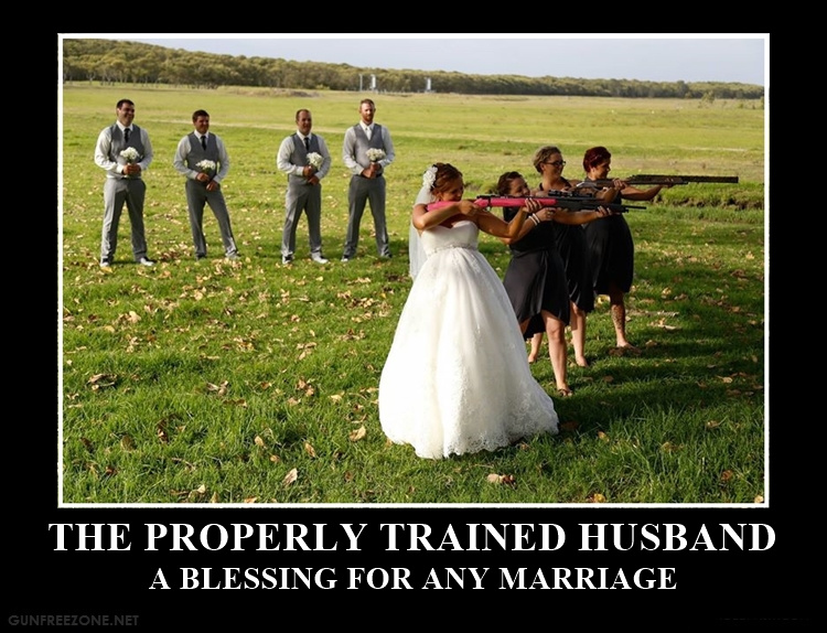 THE PROPERLY TRAINED HUSBAND