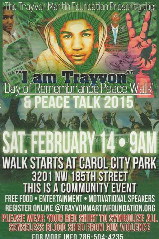 trayvon march Feb 2015