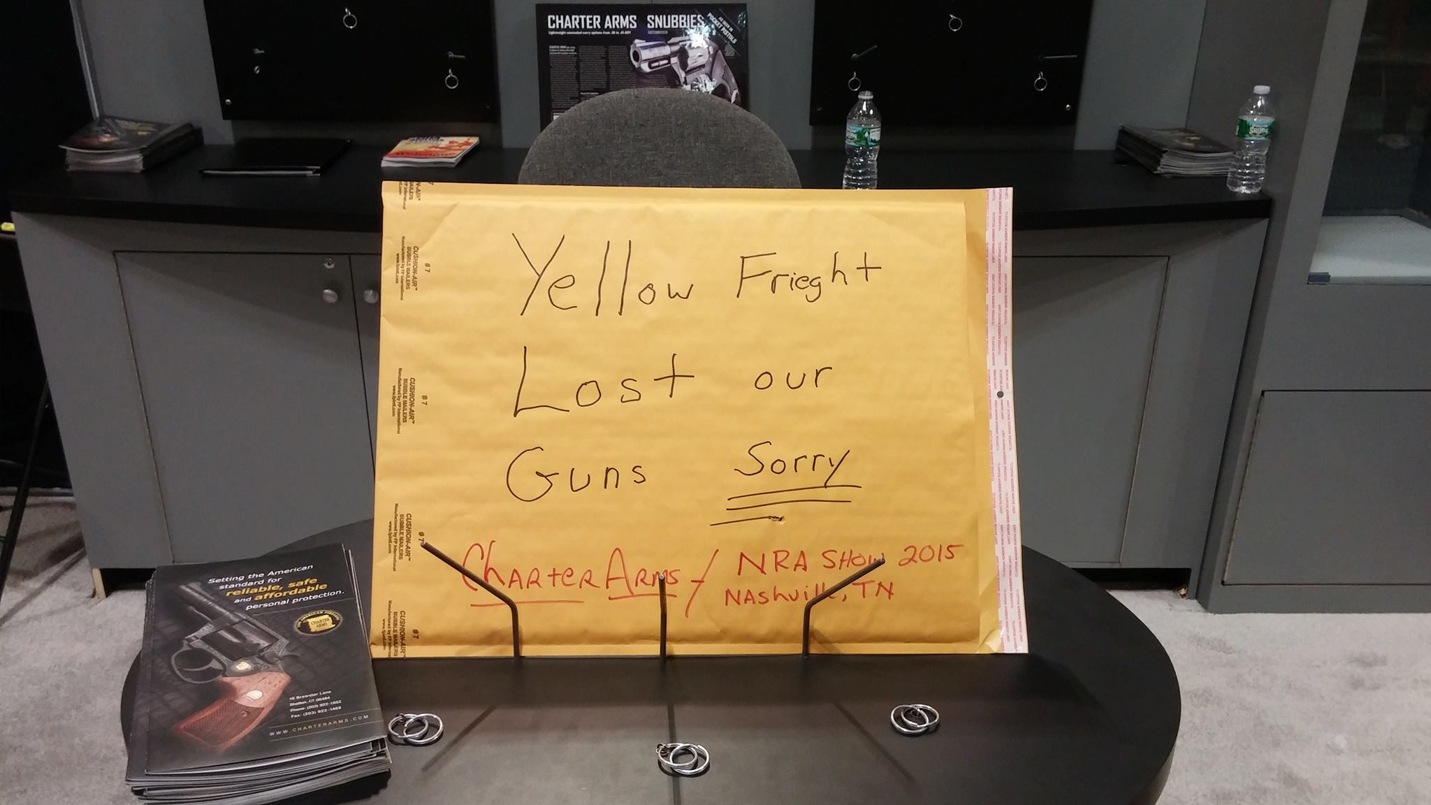 Charter Arms Lost Guns