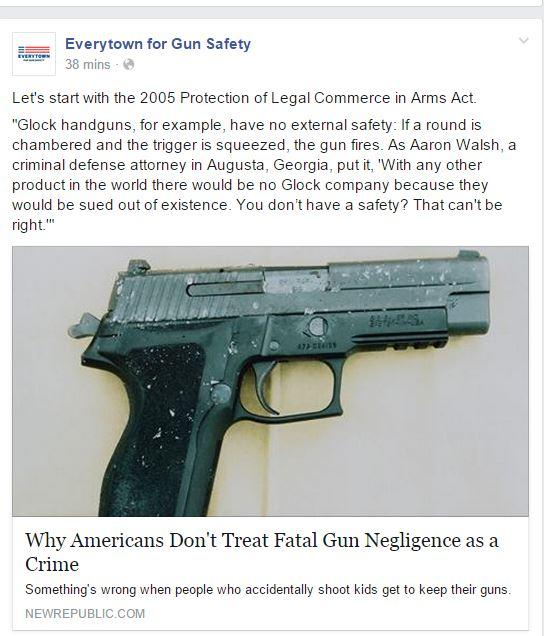Everytown Glock Fail