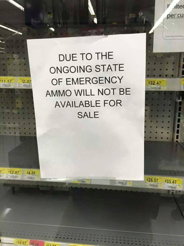 ammo state of emergency
