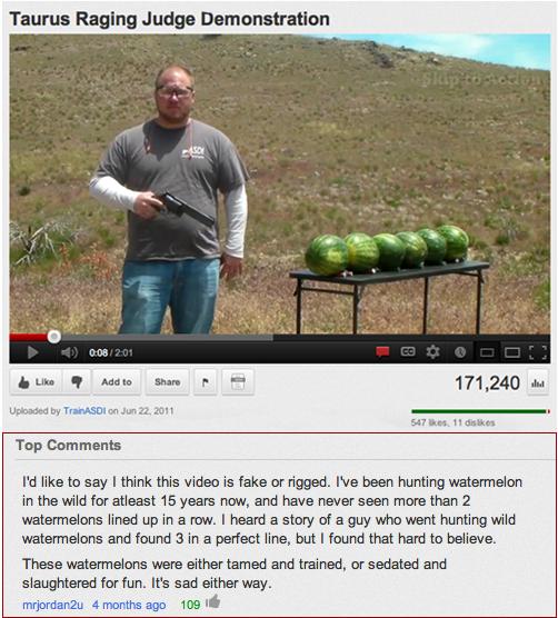 watermelon hunting