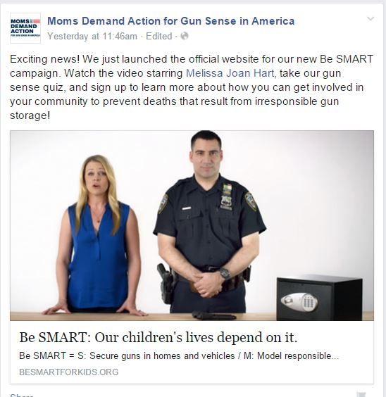 Moms Demand Be Smart Secure Weapons