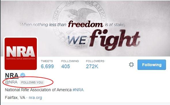 NRA Twitter 2