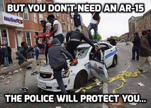 police will protect you