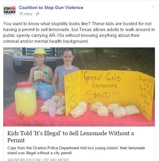 CSGV Texas Lemonade