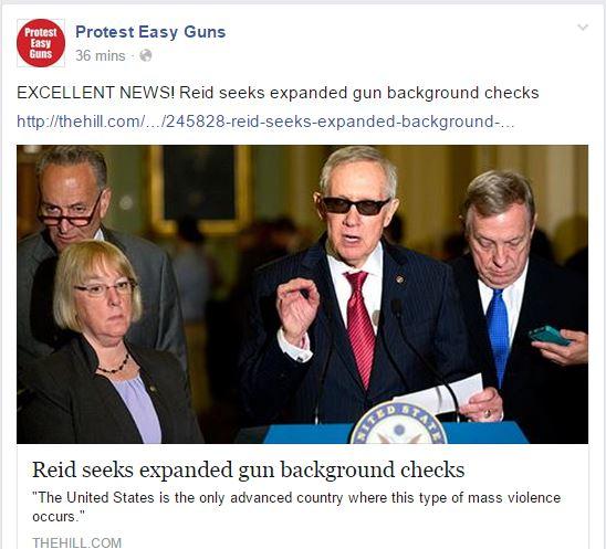 protest easy guns reid bg checks