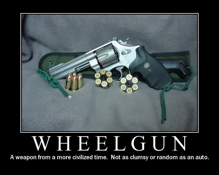 wheelgun