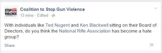 CSGV NRA Hate Group