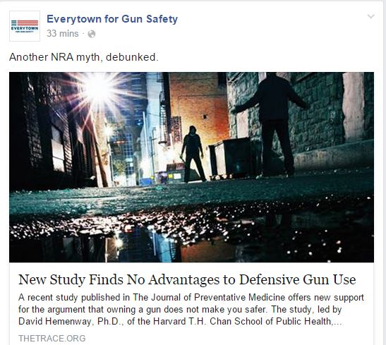 Everytown Defensive Gun Use