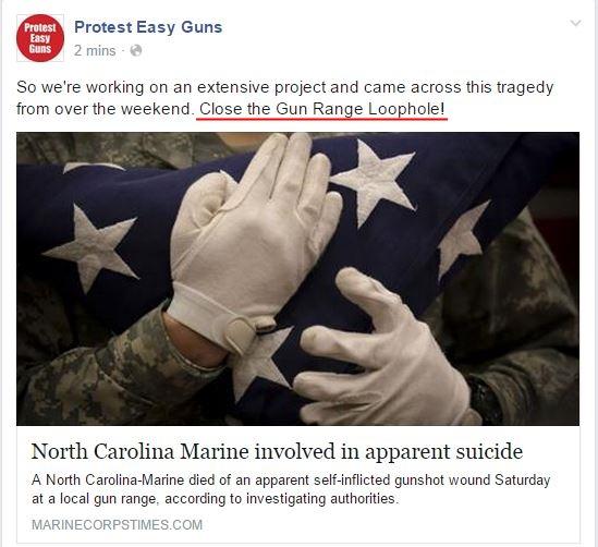 protest easy guns gun range loophole