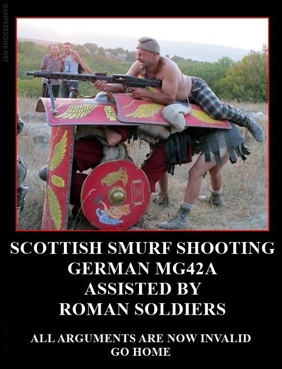 SCOTTISH SMURF