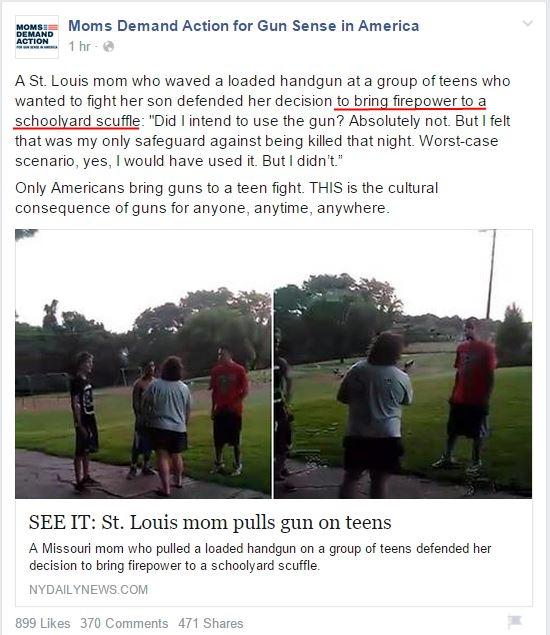 Moms Demand Tracy Leeser defends son