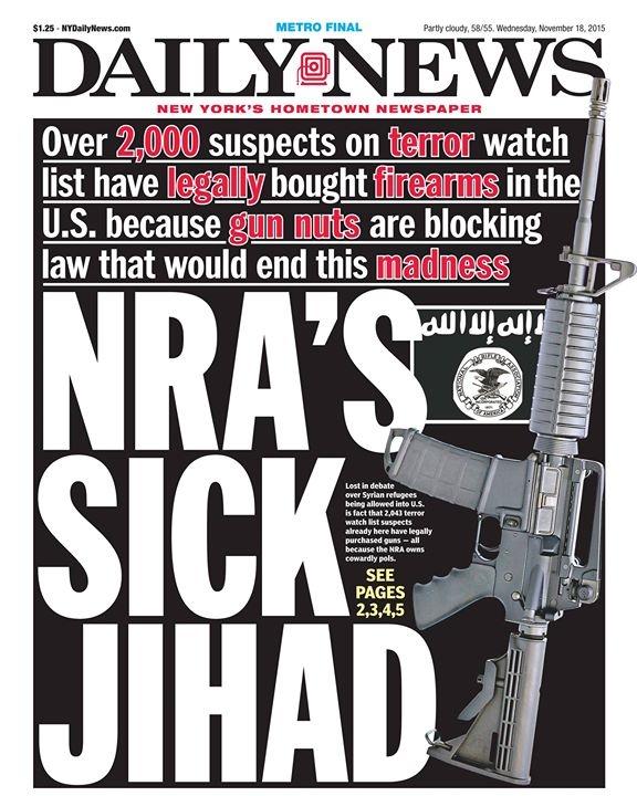 NRA Sick Jihad Daily News