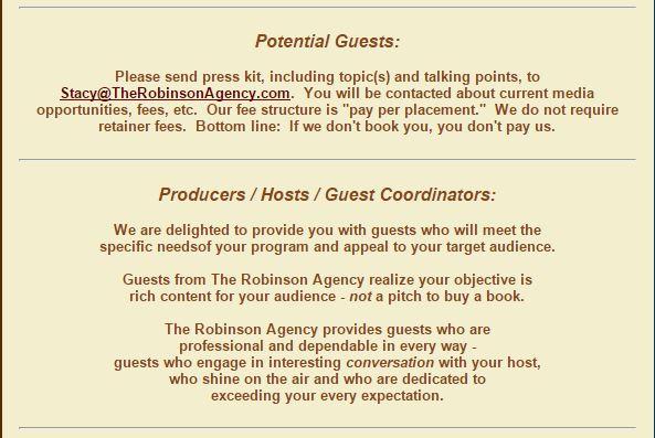 the robinson agency