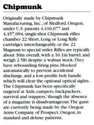Chipmunk Rifle