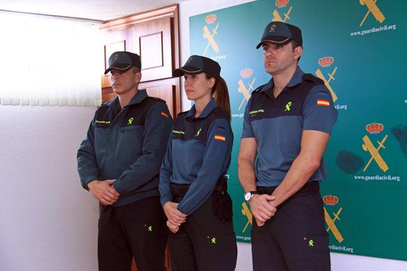 The New Guardia Civil uniforms: They also work in Jiffy Lube.