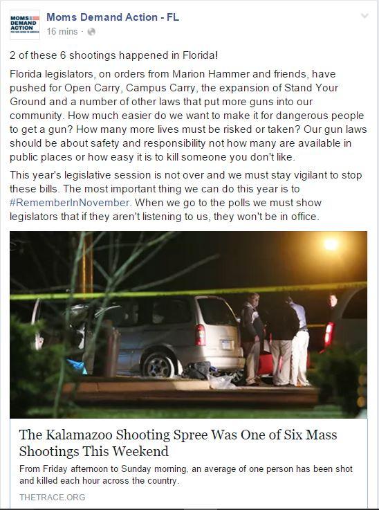 Moms Demand Florida Mass Shooting