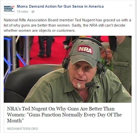 Moms Demand guns better than women