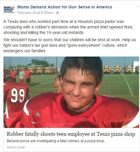 Pizza Robbery