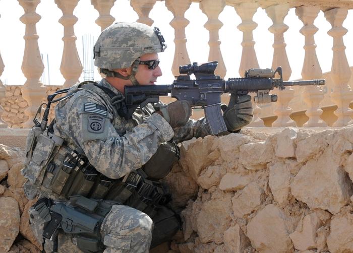 m4 carbine iraq