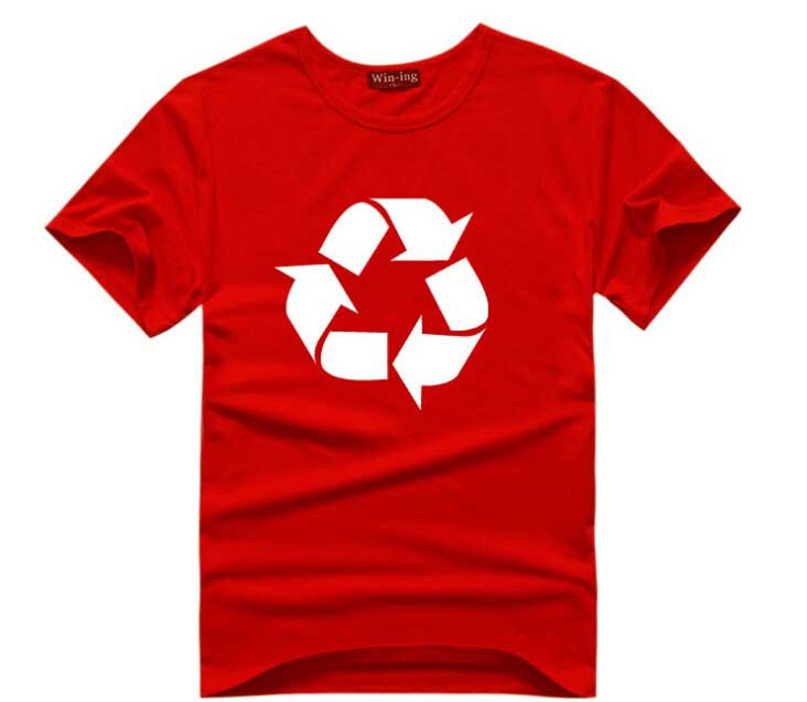 red shirt recycle