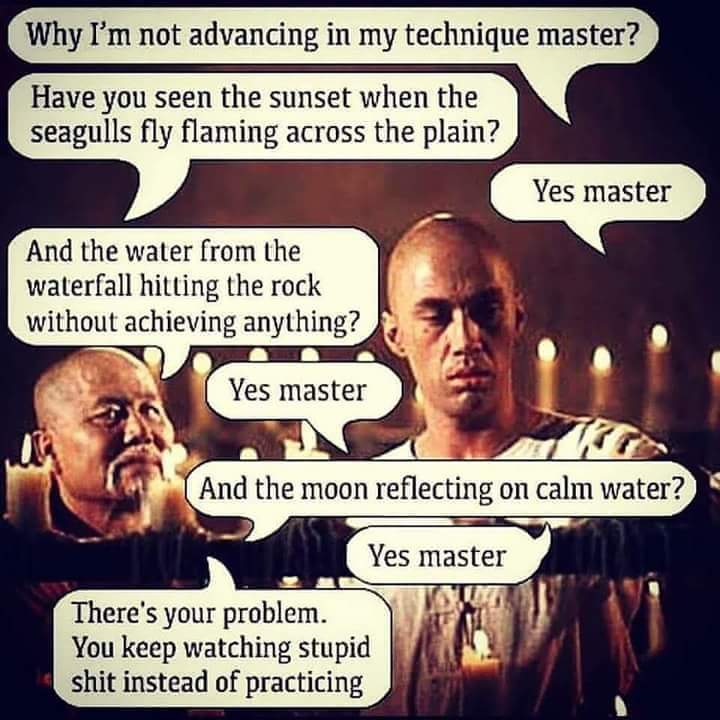 Kung Fu Advice