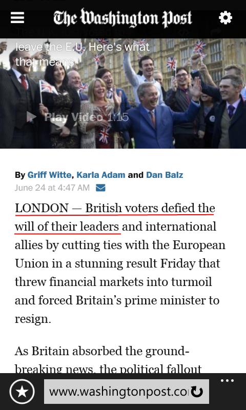 Brexit Wapo