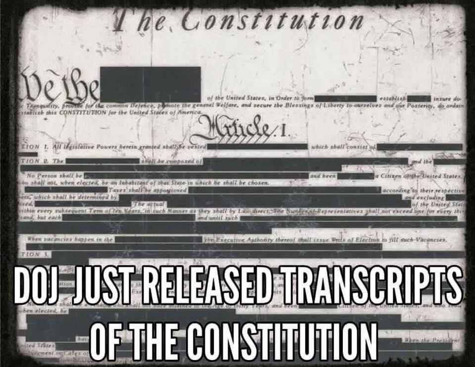 DOJ constitution