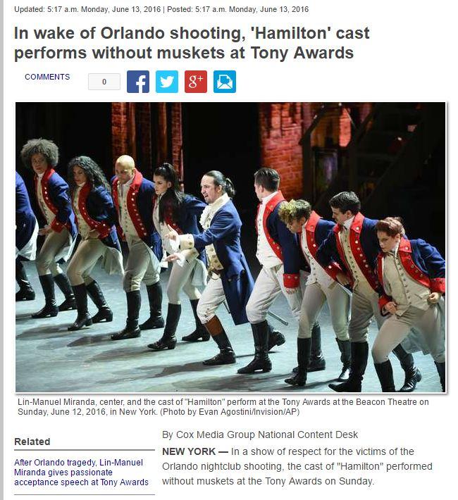 Hamilton Muskets
