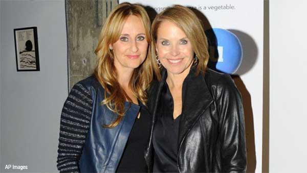 Stephanie Soechtig and Katie Couric
