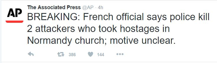 AP Normandy beheading priest
