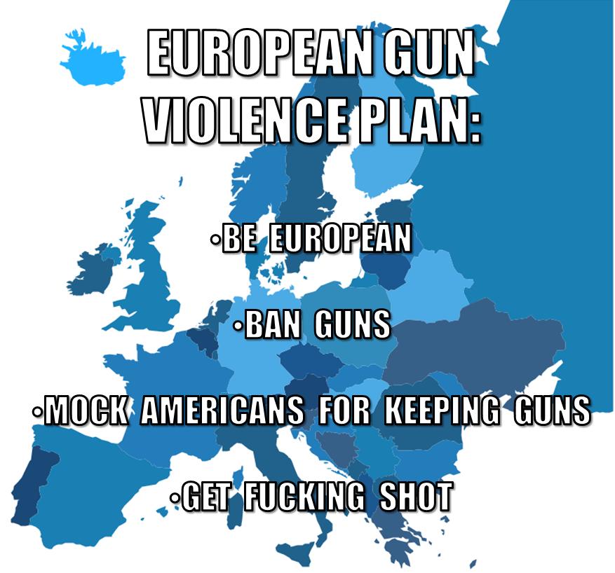 European Gun Violence plan