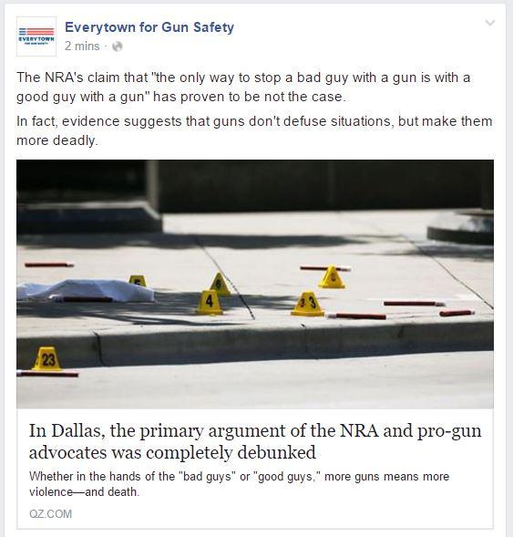 Everytown Dallas Sniper