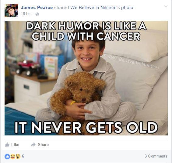 James pearce humor