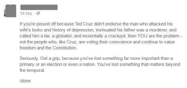 Ted Cruz RNC