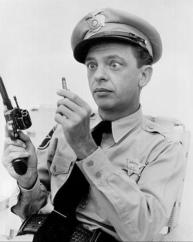 Barney Fife one bullet