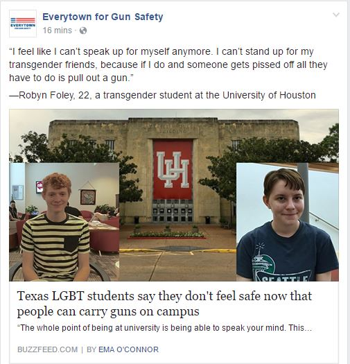 Everytown transgender texas