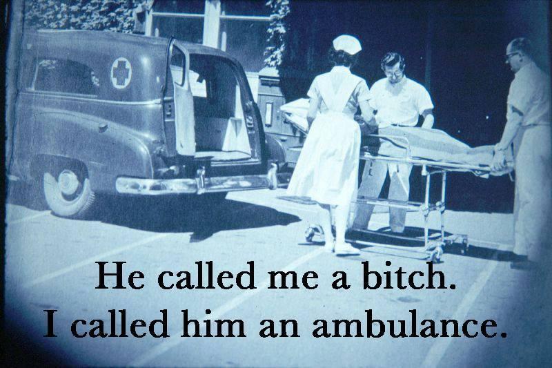 bitch ambulance