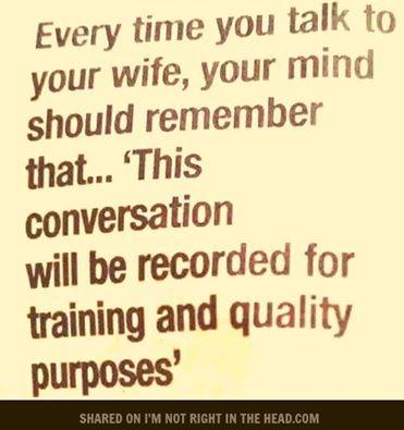 wife conversation