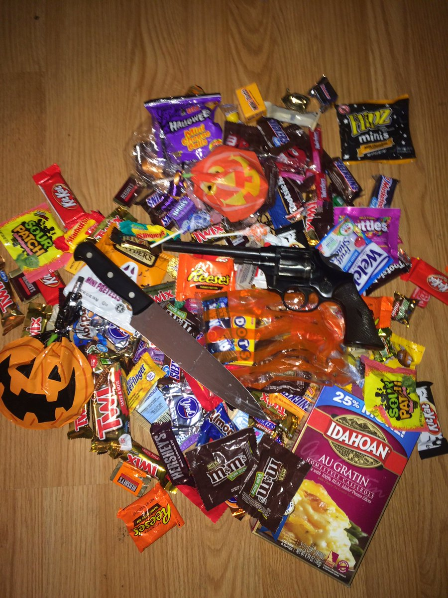 why you should check your kid's halloween candy.