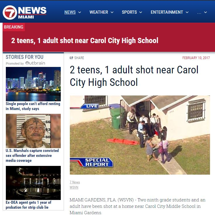 Stream Breaking News: School Shooting In English With