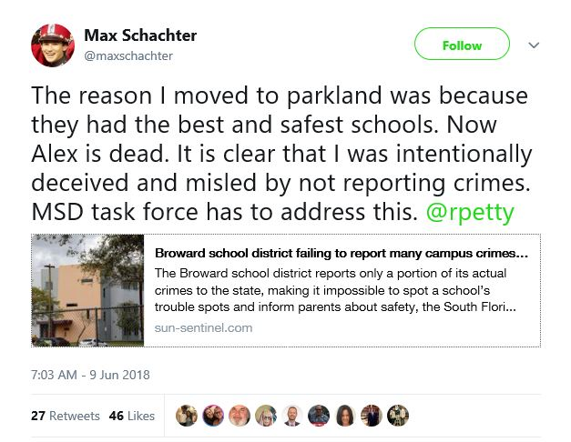 389a0dc6f Father of Parkland High School victim lied to by uthorites. But it was the  NRA s fault too